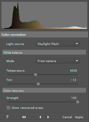 Color Correction Filter